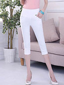 ieftine Pantaloni de Damă-Pentru femei Simplu Pantaloni Chinos Pantaloni Mată