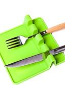 abordables Panties-Cubiertos de cuchara de silicona Cubiertos de cuchara de utensilio Vajilla resistente al calor