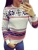 tanie T-shirt-Damskie Podstawowy Bluza dresowa - Geometric Shape, Nadruk / Sportowy look