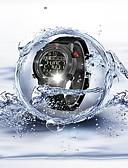 ieftine Maieu & Tricouri Bărbați-Bărbați Pentru cupluri Ceas Sport Quartz 30 m Rezistent la Apă Bluetooth Calendar Silicon Bandă Piloane de Menținut Carnea Lux Casual Modă Negru - Alb Negru / Pedometre / Cronometru