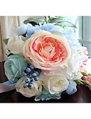 cheap Wedding Veils-Wedding Flowers Bouquets Unique Wedding Décor Others Wedding Party / Evening Prom Material Customized Materials 0-10 cm 0-20cm