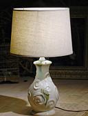 זול 2017ביקיני ובגדי ים-מודרני / עכשווי דקורטיבי מנורת שולחן עבור חדר שינה קרמיקה 220V לבן