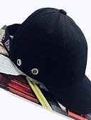 זול כובעים אופנתיים-לבן שחור כובע בייסבול כותנה אביב סתיו יום יומי