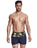 זול בגדי ים לגברים-מכנס דפוס חלקים תחתונים בגדי ריקוד גברים / סקסית