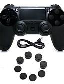 זול חולצה-בקר משחק עבור PS4 ,  ידית משחק בקר משחק סיליקון / ABS 1 pcs יחידה