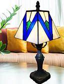 tanie Suknie wieczorowe-Metaliczny Dekoracyjna Lampa stołowa Na Sypialnia Metal 220V Niebieski / Biały