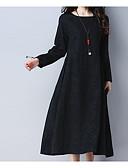 tanie Sukienki-Damskie Wzornictwo chińskie Bawełna Spodnie - Solidne kolory Czarny