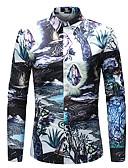 זול חולצות פולו לגברים-קשת בוהו חולצה - בגדי ריקוד גברים