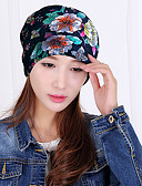 זול כובעים אופנתיים-כובע שמש כובע בייסבול - פרחוני כותנה תחרה תחרה מסיבה בגדי ריקוד נשים