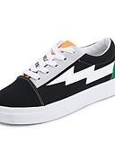 ieftine Rochii de Damă-Pentru femei Pantofi Pânză Primăvară / Toamnă Confortabili Adidași Creepers Alb / Verde