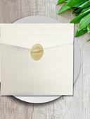 זול טישרטים לגופיות לגברים-הזמנות ומעטפות הזמנות לחתונה 50pcs - כרטיסים למסיבת אירוסין כרטיסים למסיבת כלה כרטיזים לברית/בת מילה כרטיסים ליום האם לדוגמא הזמנה כרטיסי