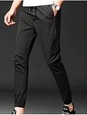 זול מכנסיים ושורטים לגברים-בגדי ריקוד גברים כותנה צ'ינו מכנסיים אחיד