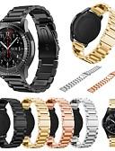 tanie Męskie koszule-Watch Band na Gear S3 Classic Samsung Galaxy Pasek sportowy Metal Opaska na nadgarstek