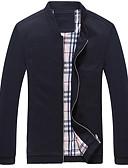 זול בלייזרים וחליפות לגברים-אחיד ארוך ג'קט - בגדי ריקוד גברים, גדול