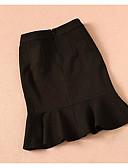 זול בגדי שינה והלבשה תחתונה לנשים-אחיד - חצאיות בתולת ים \חצוצרה פשוט בגדי ריקוד נשים