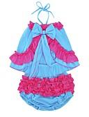 tanie Zestawy ubrań dla dziewczynek-Brzdąc Dla dziewczynek Urlop Zwierzę Warstwy materiały Bez rękawów Bawełna Komplet odzieży / Urocza