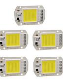 levne Pánské košile-5pcs 50w 220v diy cob led žárovka žárovky pro záplavové světlo
