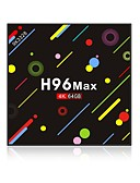 cheap Smart Activity Trackers & Wristbands-H96 Max 4G+64G TV Box Android 7.1 TV Box RK3328 Quad-Core 64bit Cortex-A53 4GB RAM 64GB ROM Octa Core