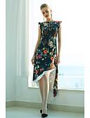 baratos Calcinhas-Mulheres Boho Bainha Vestido - Estampado, Floral