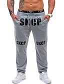 זול מכנסיים ושורטים לגברים-בגדי ריקוד גברים פעיל צ'ינו מכנסיים אותיות