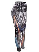 ieftine Pantaloni de Damă-Pentru femei - Geometric, Imprimeu Talie Înaltă Imprimeu Legging