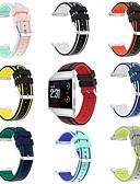 זול מקרה Smartwatch-צפו בנד ל Fitbit ionic פיטביט רצועת ספורט סיליקוןריצה רצועת יד לספורט