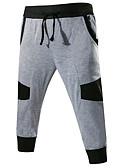 זול מכנסיים ושורטים לגברים-בגדי ריקוד גברים פעיל שורטים מכנסיים קולור בלוק
