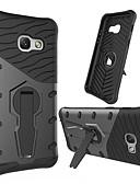 hesapli Cep Telefonu Kılıfları-Pouzdro Uyumluluk Samsung Galaxy A3 (2017) 360° Dönüş / Şoka Dayanıklı / Satandlı Arka Kapak Zırh Sert PC