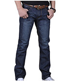 cheap Men's Pants & Shorts-Men's Cotton Jeans Pants - Solid Colored Modern Style / Weekend