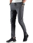 tanie Męskie koszulki polo-Męskie Podstawowy / Moda miejska Rozmiar plus Bawełna Szczupła Typu Chino Spodnie Jendolity kolor / Sport