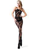 cheap Women's Nightwear-Women's Super Sexy Suits Nightwear - Cut Out Jacquard