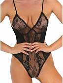 cheap Women's Nightwear-Women's Suits Nightwear - Lace Backless, Solid Colored