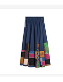 povoljno Ženski dvodijelni kostimi-Žene A kroj Osnovni Suknje - Color block