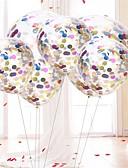 olcso Férfi pólók-Földgömb Átlátszó / Születésnap Születésnap Party dekoráció 10pcs