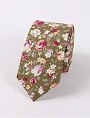 tanie Męskie koszule-Męskie Vintage / Impreza Krawat Kwiaty