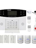 economico Orologio militare-CS85 Senza filo Home Sistemi di allarme GSM piattaforma GSM Telecomando a distanza 433 Hz per Interni