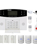 baratos Presentes de Casamento-CS85 Home Sistemas de alarme GSM Plataforma GSM Controle Remoto 433MHzforCasa