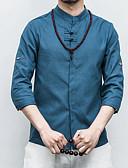 זול חולצות לגברים-אחיד סגנון סיני חולצה-בגדי ריקוד גברים