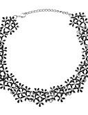 preiswerte Abendkleider-Halsketten - Blume Ethnisch, Elegant lieblich Gold, Silber 35 cm Modische Halsketten Schmuck Für Hochzeit, Party
