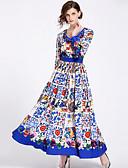 cheap Women's Dresses-SHIHUATANG Women's Street chic Boho Swing Dress - Floral, Print