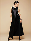 cheap Women's Dresses-BENEVOGA Women's Sophisticated Street chic Shift Sheath Little Black Dress - Solid Colored