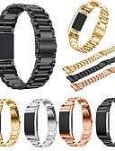 זול להקות Smartwatch-צפו בנד ל Fitbit Charge 2 פיטביט רצועת ספורט מתכת אל חלד רצועת יד לספורט