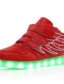 povoljno Džemperi i kardigani za dječake-Dječaci / Djevojčice Svjetleće tenisice PU Sneakers Dijete (9m-4ys) / Mala djeca (4-7s) / Velika djeca (7 godina +) Hodanje Kopča / LED Pink / Crna / Green / Navy Plava Jesen / Zima / Guma