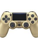 זול חולצות פולו לגברים-אלחוטי בקר משחק עבור PS4 / PS4 Slim / PS4 Prop ,  בלותוט' רעידה / לוח מגע בקר משחק ABS 1 pcs יחידה