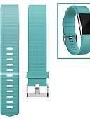 Χαμηλού Κόστους Γαμήλιες Εσάρπες-Παρακολουθήστε Band για Fitbit Charge 2 Fitbit Μοντέρνο Κούμπωμα Φθορο-ελαστομερές Λουράκι Καρπού