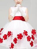 abordables Vestidos de Niña-Bebé Chica Floral Floral Sin Mangas Vestido / Algodón