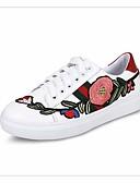 ieftine Rochii de Damă-Pentru femei Pantofi PU Primăvară / Toamnă Confortabili Adidași Toc Jos Rosu / Verde