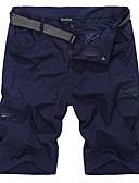 זול מכנסיים ושורטים לגברים-בגדי ריקוד גברים מכנסיים קצרים לטיולי הליכה חיצוני ייבוש מהיר, נשימה, תומך זיעה מכנסיים קצרים / תחתיות פעילות חוץ / ספורט רב פעילותי