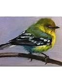 tanie Kombinezony damskie-styledecor® nowoczesny, ręcznie malowany abstrakcyjny obraz olejny ptak na płótnie