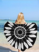 preiswerte Strandkleider-Gehobene Qualität Strandtuch, Muster Polyester / Baumwolle 1 pcs